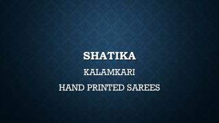 Shop for Printed Kalamkari Sarees