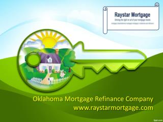 Best Mortgage Refinance Company in Oklahoma