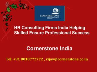 HR Consulting Firms India Helping Skilled Ensure Professional Success