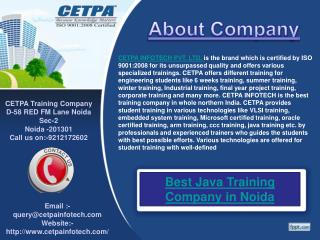 Best Java Training Company in Noida