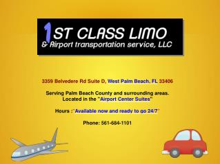 Limo Service West Palm Beach FL