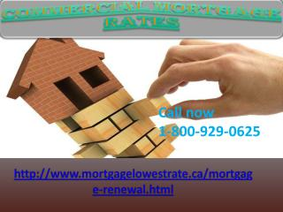 Mortgages - Compare The Best 1-800-929-0625 Commercial Mortgage