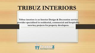 Best interior designing firms in Delhi, Gurgaon & Noida