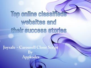 Top online classifieds websites and their success stories