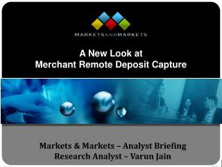 Markets  Markets   Analyst Briefing Research Analyst   Varun Jain