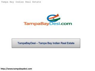 TampaBayDesi – Tampa Bay Indian Real Estate