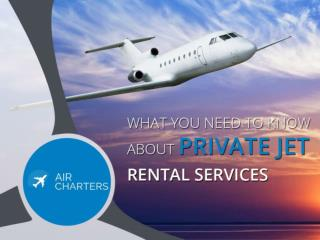 The Advantages of Using Private Jet Charter Services in NY