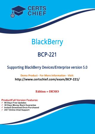 BCP-221 Exam Answers