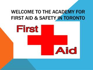 Professional First Aid Cpr Level c Courses in Toronto