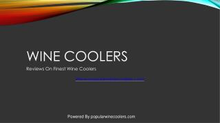 Best Wine Coolers 2017