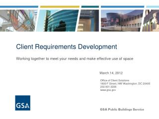 Client Requirements Development