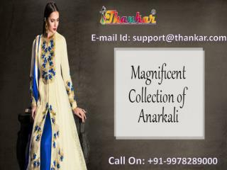 Latest Anarkali Salwar Suits Online Shopping for New Year Eve in India