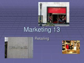 Marketing 13