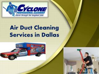 Air Duct Cleaning Services in Dallas
