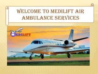 Air Ambulance Services in Ranchi and Allahabad Presentation