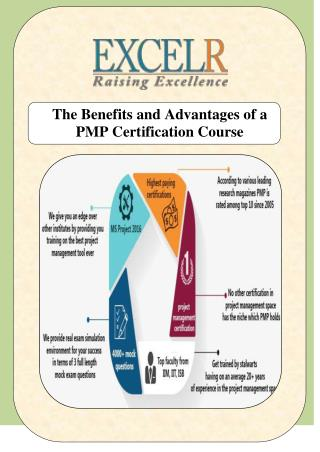 The Benefits and Advantages of a PMP Certification Course