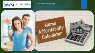 How Much House Can I Afford: Importance of Mortgage Affordability Calculators