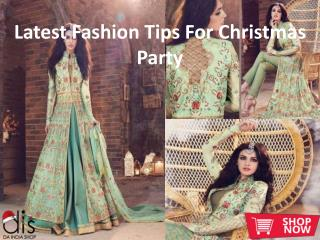 Latest Fashion Tips For Christmas Party