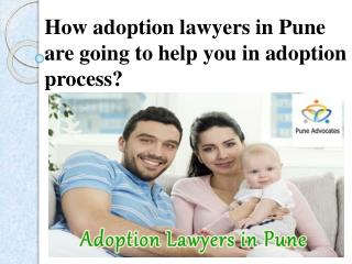 What is the Credibility of Adoption Lawyers Pune in the Society?