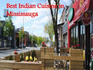 The Best Food, Indian Cuisine in Mississauga
