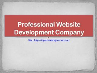 Top Web Development Services in India