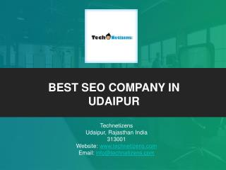 Best SEO company in Udaipur : Technetizens