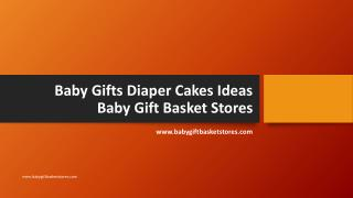Baby Gifts Diaper Cakes Ideas