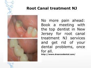 Root Canal treatment NJ