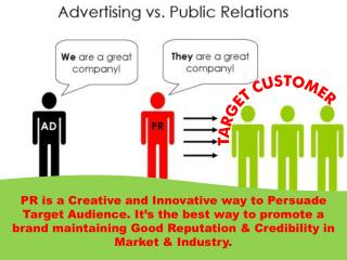 Do you know how PR is different from Advertising-Top PR Agency
