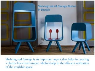 Shelving Units & Storage Shelves in Sharjah