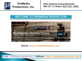 Video production company Minneapolis MN