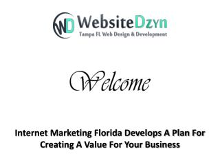 Internet Marketing Florida Develops A Plan For Creating A Value For Your Business