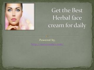 Herbal Skin care products online