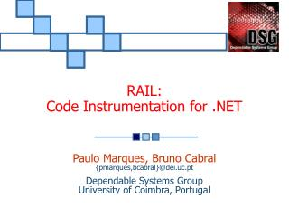 RAIL:  Code Instrumentation for .NET