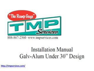 Installation Manual Galv-Alum