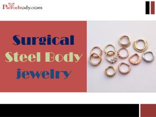 Surgical Steel Body Jewelry - Pierce Body