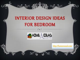 Interior Design Ideas for Bedroom | Homeround.com