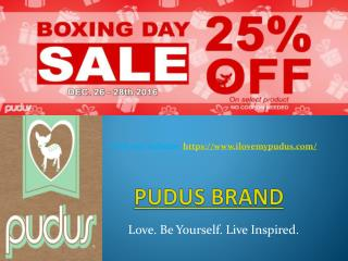 Pudus brand slipper socks & hats