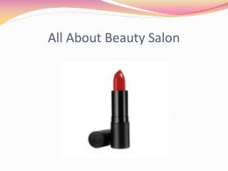 All About Beauty Salon