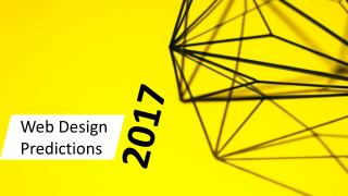 Web Design Predictions 2017