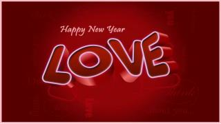 New year wishes for lovers