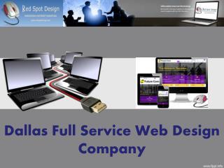 Dallas Full Service Web Design Company
