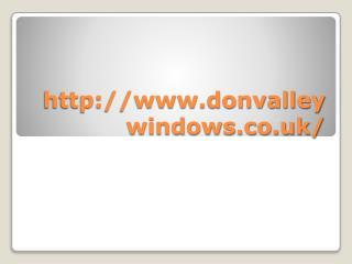 donvalleywindows.co.uk