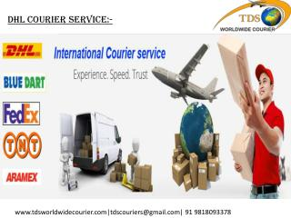 NO.1 DHL COURIER SERVICE BEST IN DELHI, CANADA, USA