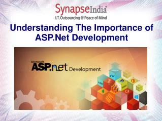 Understanding The Importance of ASP.Net Development