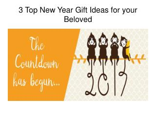 Top New Year Gift Ideas for your Beloved