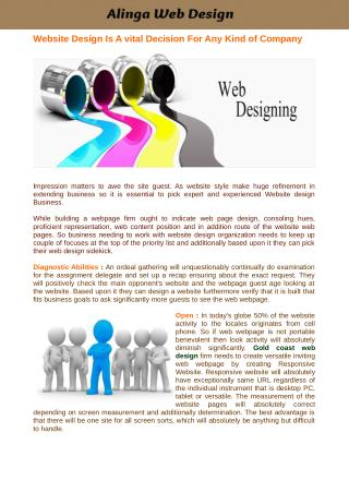 Gold Coast Web Design Company Giving Organizations at A Really Ease Rate
