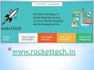 Dynamic Website & Static Website Development Services in India