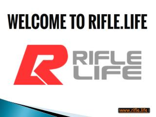 Rifle shop Online - Rifle.life