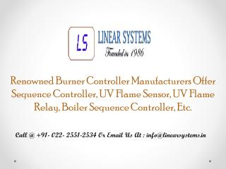 Sequence Controller Manufacturers
